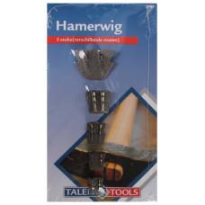 HAMERWIG 4 STUKS OP KAART