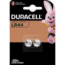 DURACELL BATTERIJ ALKALINE LR44 (2 STUKS)