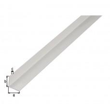 HOEKPROFIEL PVC WIT10X10X1/1
