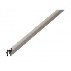 KLEMPROFIEL PVC WIT 15X0 9/1M