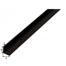 HOEKPROFIEL PVC ZWART10X10X1/1