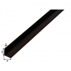 HOEKPROFIEL PVC ZWA15X15X1 2/1