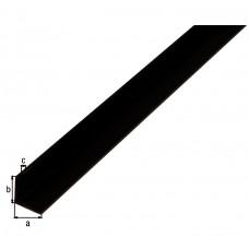 HOEKPROFIEL PVC ZW25X25X1 8/2