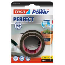TESA EXTRA POWER PERFECT 2.75M 38 MM ZWART 2.75 38 ZWART